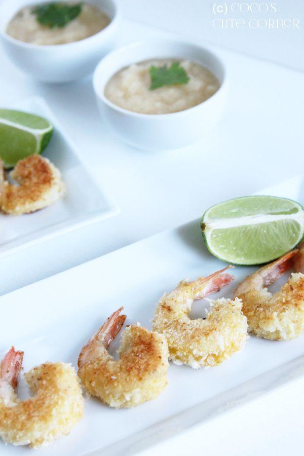 Shrimps im Kokosmantel mit Ananas Dip - ab nach Hawaii