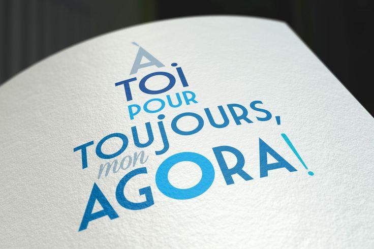 Signature pour la campagne de financement de L'Agora des Arts de Rouyn-Noranda