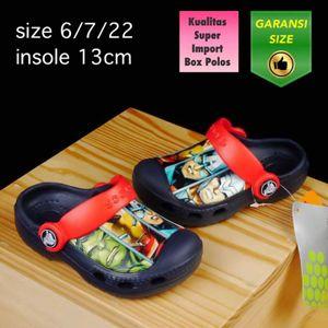 Sandal Anak Crocs Avenger Navy