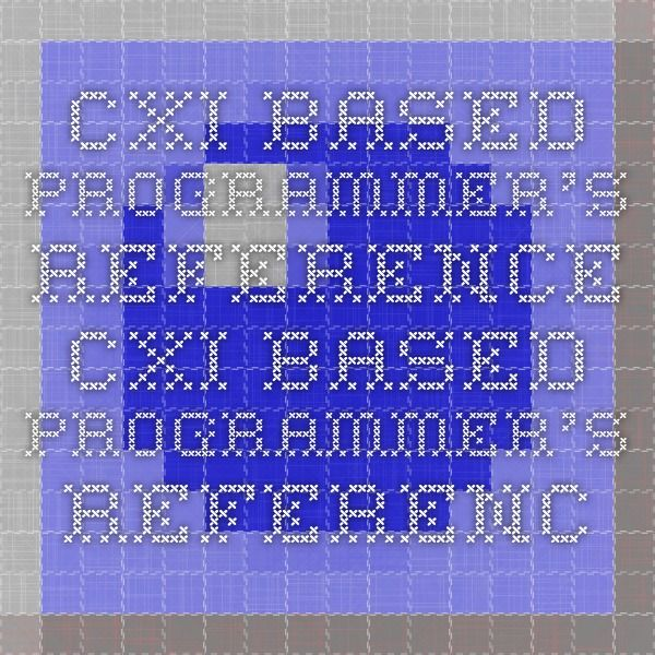 CXI-based Programmer's Reference   		 	  		 		 	 CXI-based Programmer's Reference / Version 2 / Supported Systems / Win32 (Windows 95 and Windows NT) / Character encoding under Win32 [Win32] Character encoding under Win32