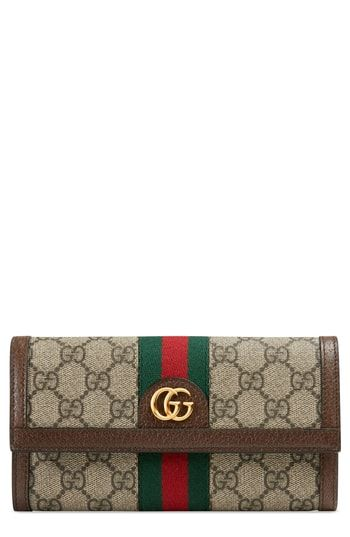 7f692586e0c6 Gucci Ophidia GG Supreme Continental Wallet | ACCESSORIES . | Gucci ...