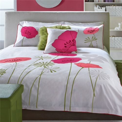Collection nanako housse de couette bouclair maison 50 for Housse duvet