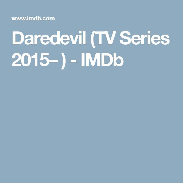 Daredevil (TV Series 2015– ) - IMDb