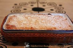 (ildeborino) Busy Bee: Dolcezze Infantili - Torta di Riso senza Pasta Fro...
