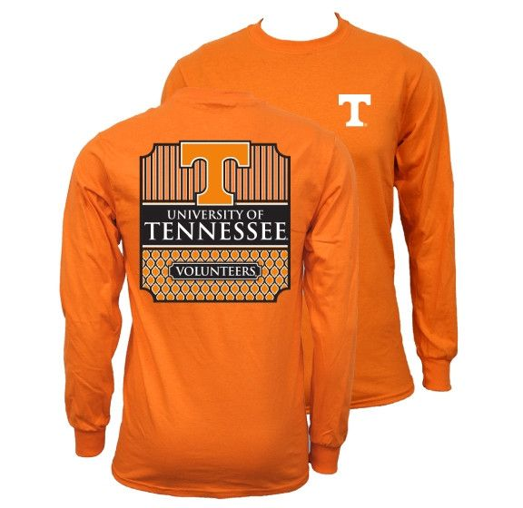 Southern Couture University of Tennessee Volunteers Vols Classic Preppy Girlie Bright T Shirt Available in sizes- S,M,L,XL,2X,3X