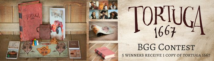 Facade Games Tortuga 1667 Giveaway! Ends February 16, 2017.