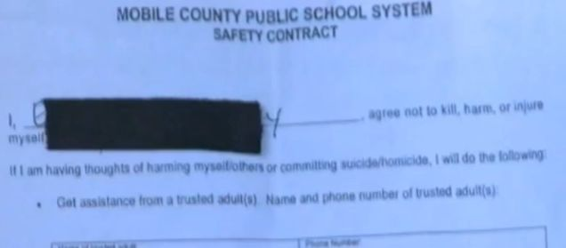 School Forces 5-Year-Old To Sign Suicide/Murder Contract Because Her Drawing 'Resembled A Gun' (VIDEO) Rebecca is currently trying to get this incident removed from her daughter's record.