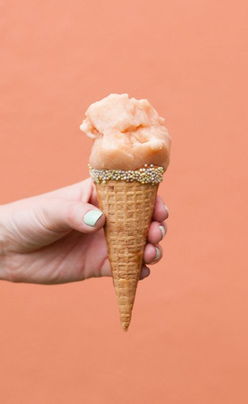 The House That Lars Built.: Cantaloupe hibiscus sorbet