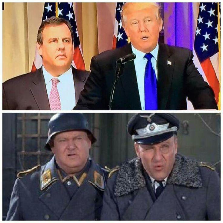 Colonel Drumpf and Henchman