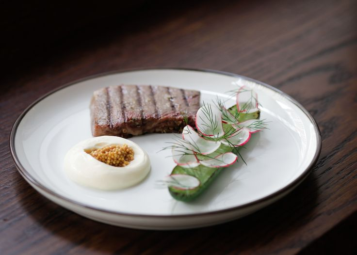 CLIPSTONE, LONDON Anyone who's had the privilege of visiting the Michelin star-garlanded Portland in central London will be cheered by Will Lander and Daniel Morgenthau's next offering, Clipstone. Handily located a stone's throw from its sibling, the restaurant is bright and inviting with a Scandi-feel interior, which feels modern and inviting just like the food served here. clipstonerestaurant.co.uk