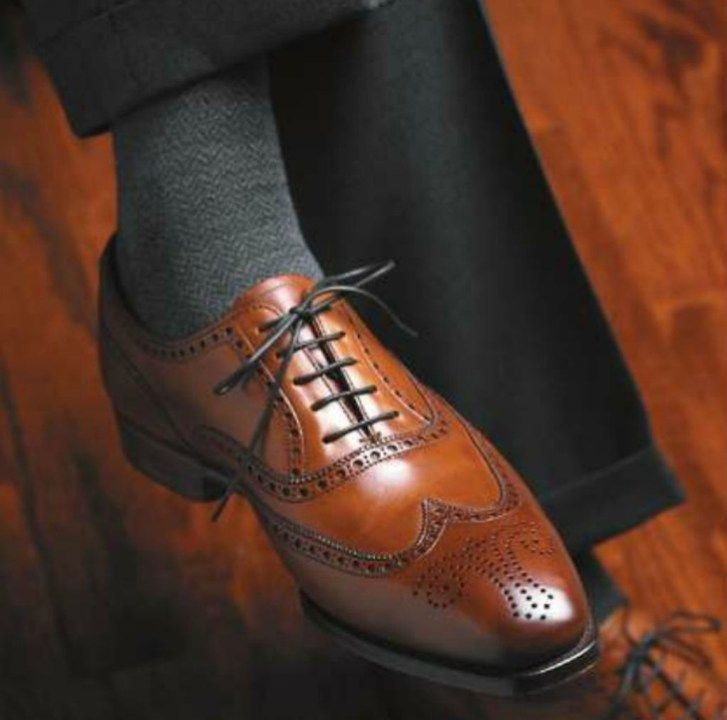 Stylish mens wingtip shoes ideas for stunning looks 20