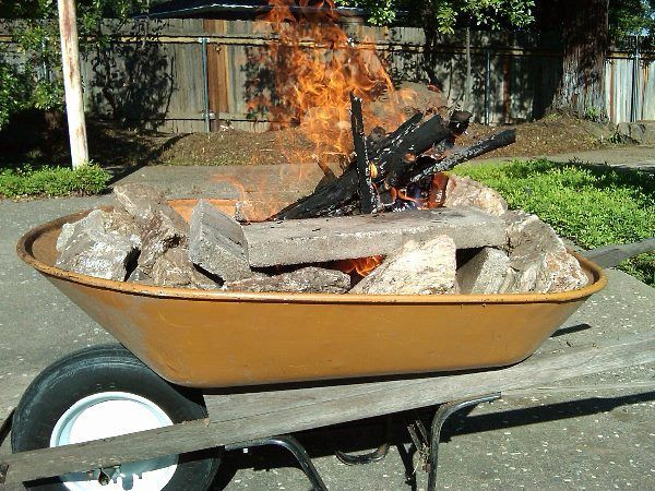 From Wheelbarrow to Fire Pit