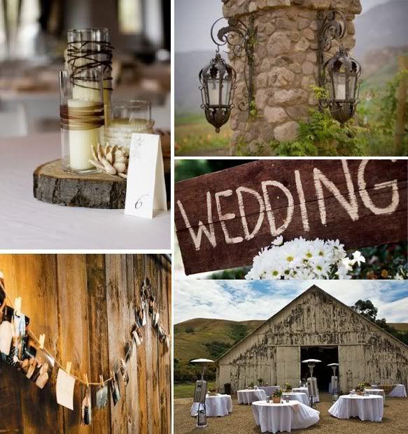 rustic wedding<3