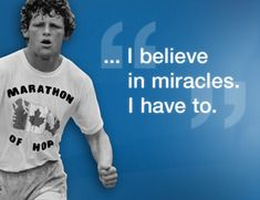 Terry Fox - Canadian Hero -A world of hope