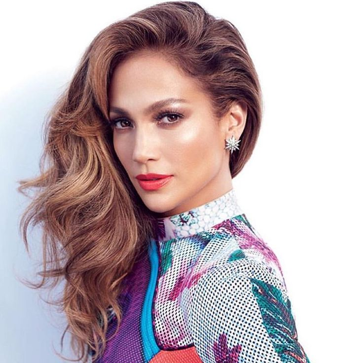 Beautiful makeup on the gorgeous @jlo by @1maryphillips