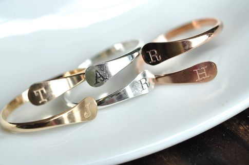 couples ring custom initials, stamped initial ring,adjustable