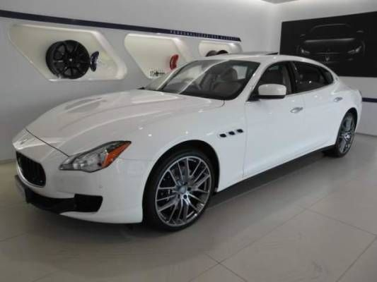Used 2015 (M reg) White Maserati Quattroporte 3.0 S 4dr for sale on RAC Cars