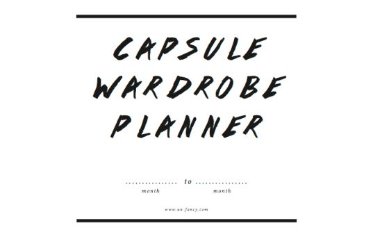 I love the idea of a capsule wardrobe! I think it might take me more than one season to actually get down to the 37 items but I think it's a great idea - and hey, less laundry!!  free wardrobe planner