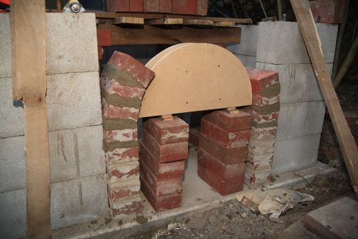 17 best images about brick oven on pinterest pizza for Decorative rocket stove