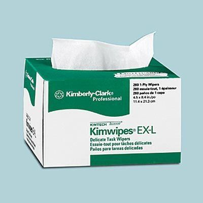 Kimberly-Clark Kimwipes(R), 15in. x 17in. by Kimberly-Clark. Save 14 Off!. $10.65. A value-conscious alternative that offers reliable wiping performance. A versatile option for delicate tasks. For laboratory cleaning, surface/parts cleaning, instrument cleaning, lens cleaning and more. A soft, nonabrasive finish and lowlint design helps prevent damage to precision components. Use Kimwipes to polish metal, Plexiglas(TM) and film surfaces.