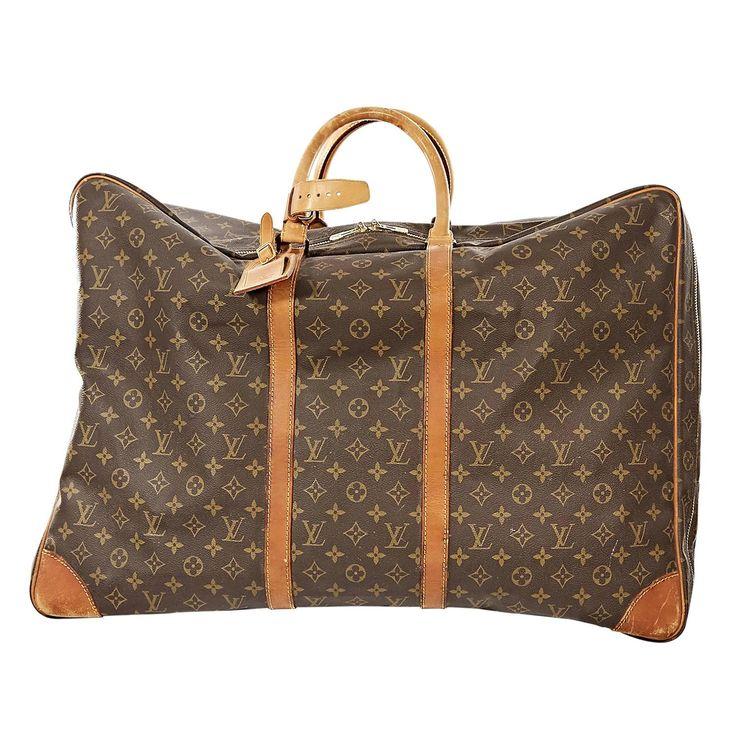 Brown Louis Vuitton Monogram Canvas Sirius 60 Suitcase