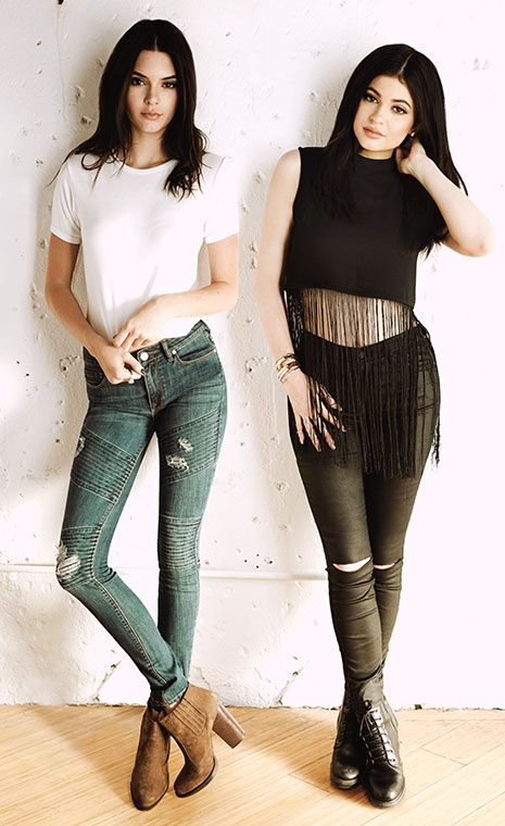 Kendall and Kylie.