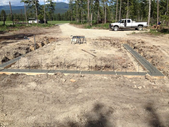 Concrete Footer And Stem Wall Construction Scott Herndon Homes General Contractor Blog Sandpoint I Building Foundation General Contractor House Foundation