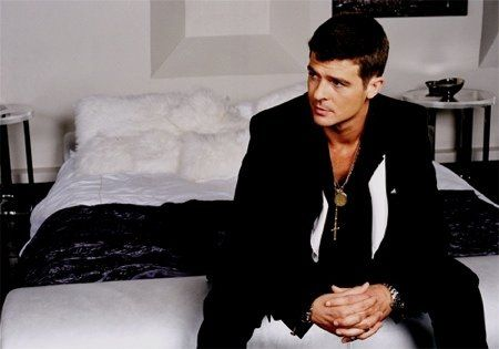 Robin Thicke.  I will marry him one day when my husband dumps me