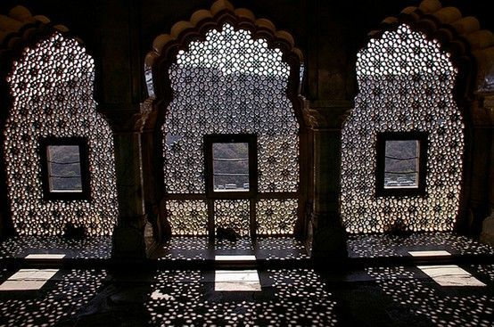 Jali or jaali ancient indian architecture developed in for Window design jali