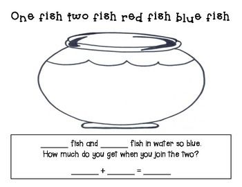 Dr. Seuss- One Fish, Two Fish, Red Fish, Blue Fish: Enjoy this fun math activity celebrating Dr. Seuss!