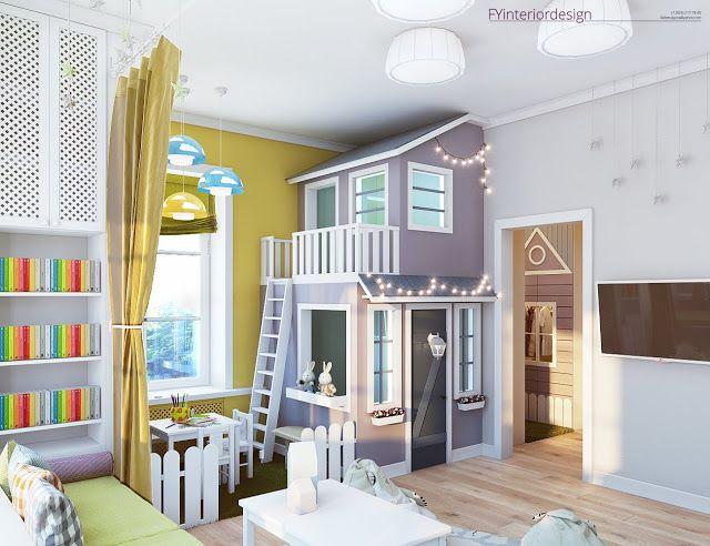 Игровая комната для девочки