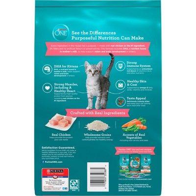 Purinaa One Healthy Kitten Formula Premium Dry Cat Food 3 5lb