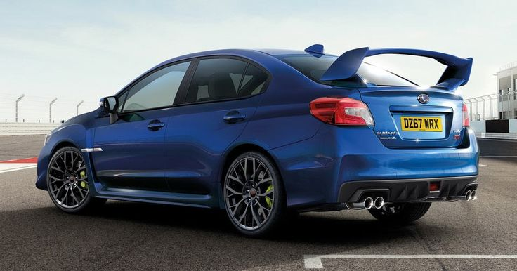Adios STI: Last 150 Subaru WRX STIs Offered In Final Edition Spec In The UK #New_Cars #Prices