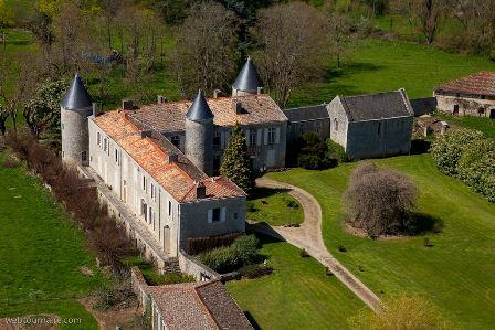 la pimpeliere 79   château de la Carte - Cherveux (Deux Sèvres)