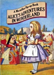 Alice's adventures in Wonderland Pop-Up book published by Macmillan, 1980.