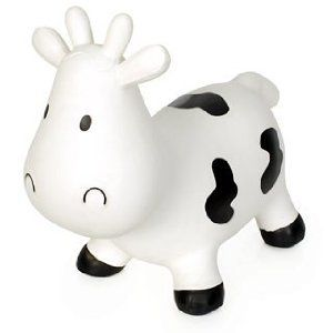 happy hopper cow