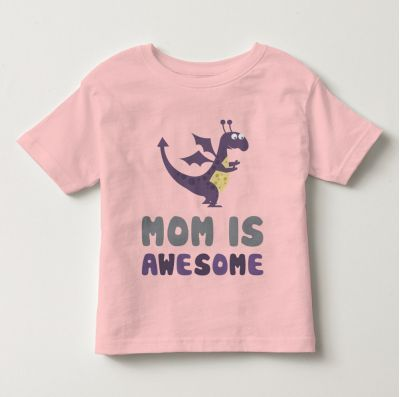 """Áo thun tay ngắn trẻ em kidstyle màu hồng nhạt in chữ """"Mom is Awesome"""" // Chất liệu thun cotton 100% cao cấp, màu rất đẹp // Đủ size từ 1 - 12 tuổi cho bé lựa chọn // Xem chi tiết GIÁ SỐC tại website kidstyle.com.vn ** Công ty thời trang trẻ em KidStyle ** Địa chỉ: 206/40 Đồng Đen, Phường 14, Quận Tân Bình, Tp. Hồ Chí Minh ** SĐT: 0909 145 138"""