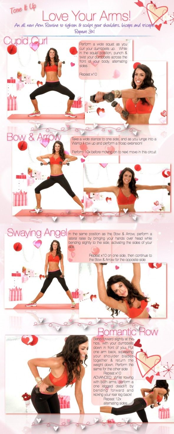 Tone It Up! Blog - Tone It Up Tuesday ~ Your New Workout to L♡VE Your Arms