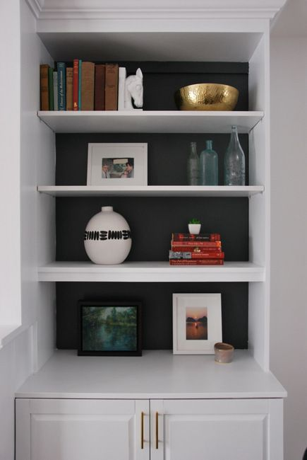 Shelf Decorating Ideas best 25+ shelves around fireplace ideas on pinterest | craftsman