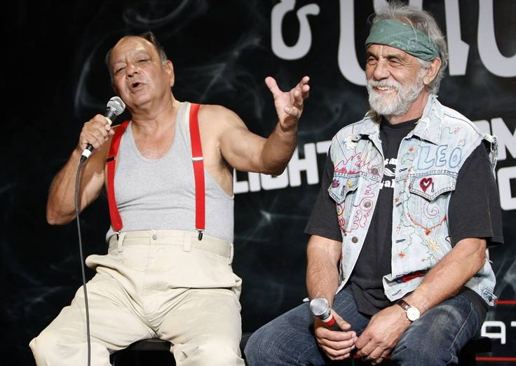 """Nice Dreams,"" the stoner comedy starring Cheech and Chong, opened on this date in 1981. Photo of the comedy duo courtesy of AP."