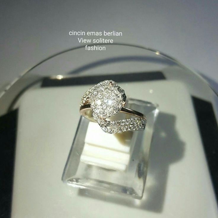New Arrival🗼. Cincin Emas Berlian View Solitere Fashio💍.   🏪Toko Perhiasan Emas Berlian-Ammad 📲+6282113309088/5C50359F Cp.Antrika👩.  https://m.facebook.com/home.php #investasi#diomond#gold#beauty#fashion#elegant#musthave#tokoperhiasanemasberlian