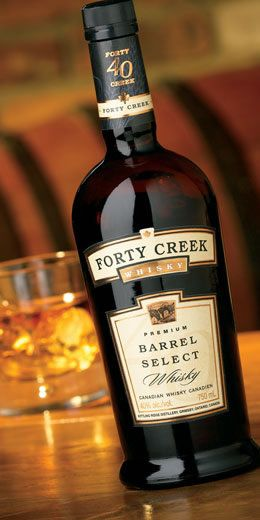 Forty Creek Barrel Select. Like warm, dark chocolate. The best everyday Canadian whisky.