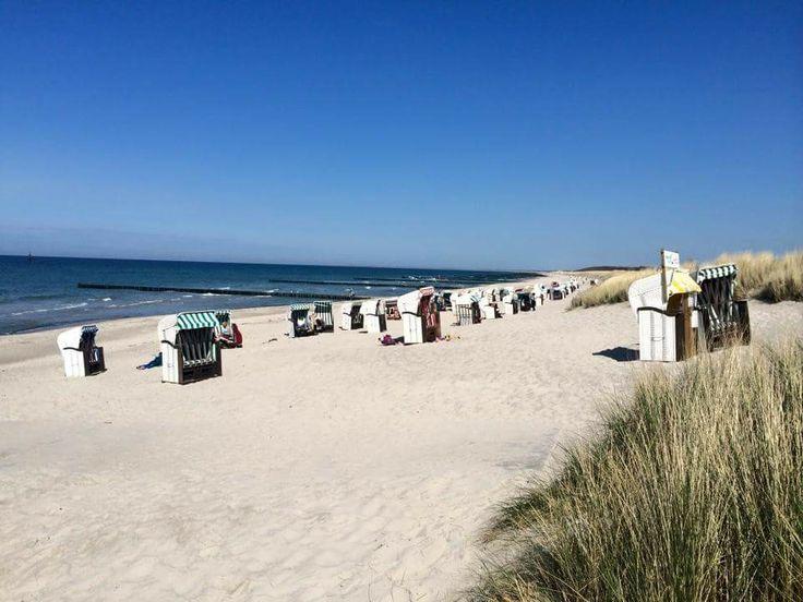 Strand nahe der Ferienwohnung Graal Müritz Appartement #GraalMüritz #Graal #Mueritz #GraalMueritz #Ostsse #Strand #Ferienwohnung #FEWO #Hotel #Urlaub