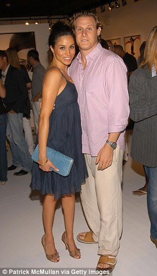 It is unclear why Meghan and Trevor split, with the couple citing 'irreconcilable differences' in their divorce papers. Pictured above in 2006