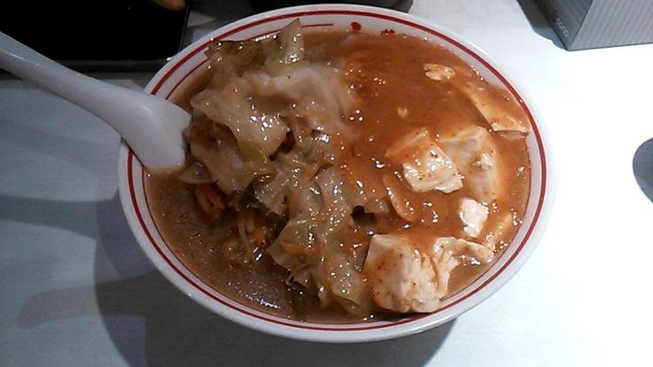 蒙古タンメン + 野菜大盛(蒙古タンメン 中本 高円寺店) | 以上、レポっす。