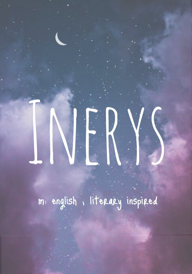 Inerys - made up baby girl name! Pronounced: Inn-AIR-iss
