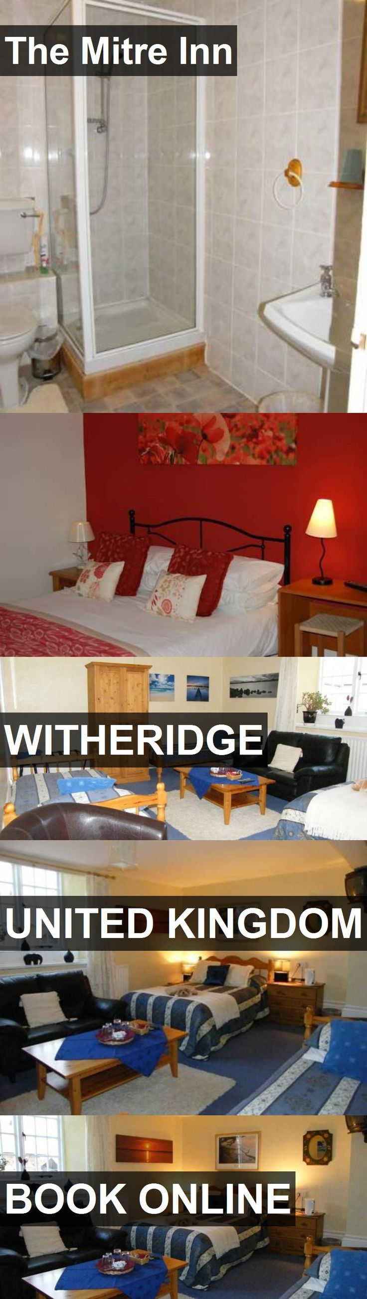 Hotel The Mitre Inn in Witheridge, United Kingdom. For more information, photos, reviews and best prices please follow the link. #UnitedKingdom #Witheridge #travel #vacation #hotel