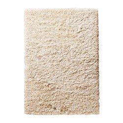 "GÅSER rug, high pile, off-white Length: 7 ' 10 "" Width: 5 ' 7 "" Area: 43.92 sq feet Length: 240 cm Width: 170 cm Area: 4.08 m²"