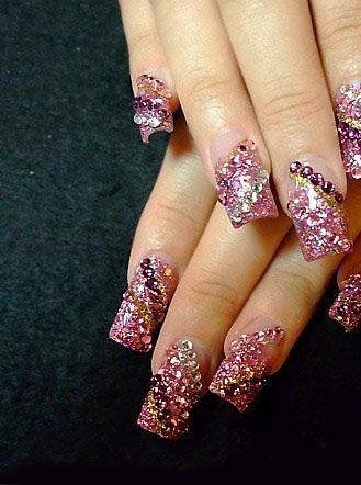 nail tips acrylic