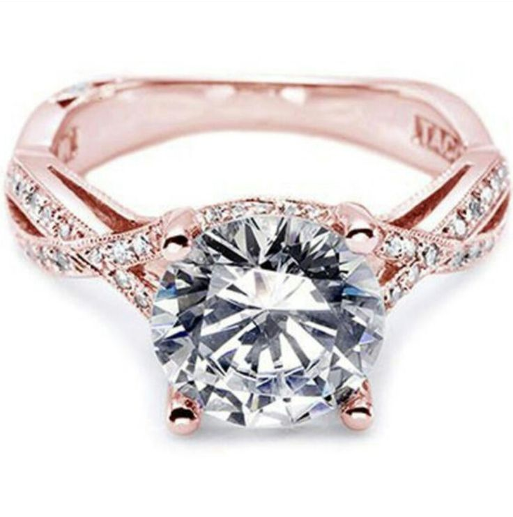 Tacori rose gold engagement ring not gonna happen